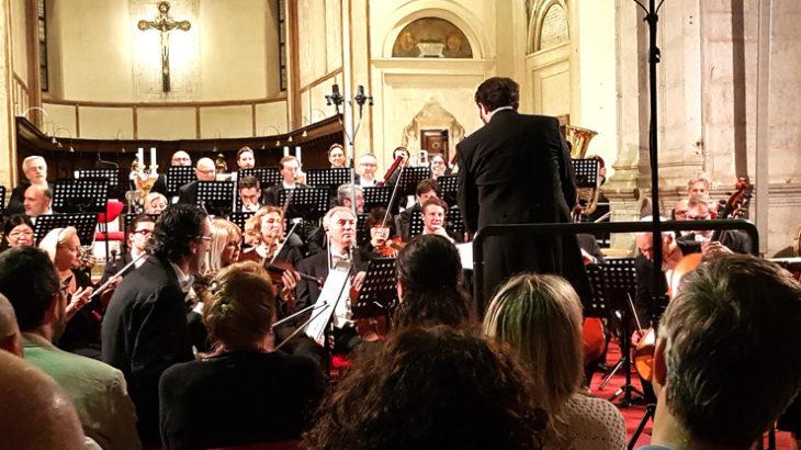 L'Orchestra sinfonica Arteviva in scena a S.Maria delle Grazie