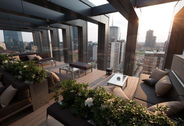 Terrazze Milano aperitivo Rooftop laGare