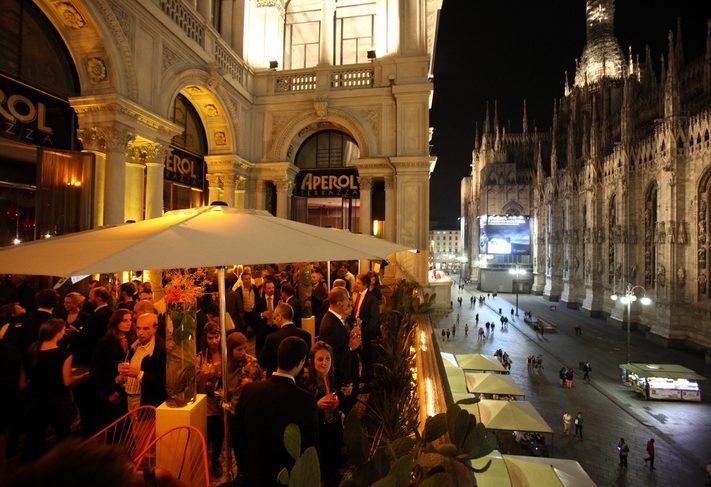 Terrazza Aperol Milano esterno