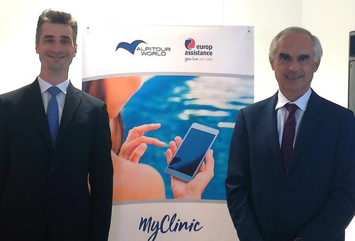 Per utilizzare tutti i servizi di MyClinic basta scaricare l'App MyAlpitour World, dove tutti i clienti Alpitour avranno nell'APP My Alpitour World la possibilità per richiedere assistenza sanitaria durante il loro viaggio.