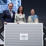 I tre direttori premiati al Premio Ferrari