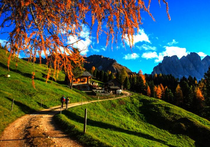 Val di Funes il fascino di una vacanza green