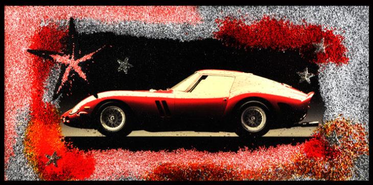 ARCgallery presenta la Ferrari, in scena l'artista biellese Omar Ronda