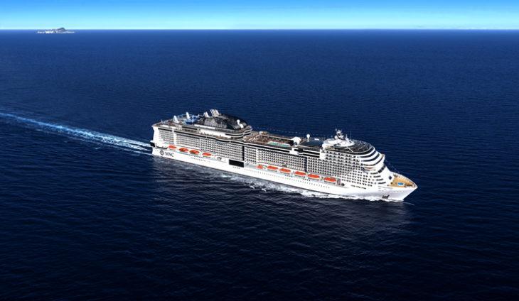 """""""MSC Grandiosa"""" la nave più grande della flotta MSC Crociere, eccola a pochi mesi dal varo"""
