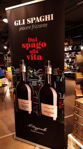 """F&P Wine Group: al via la prima comunicazione de """"Il Poggiarello"""" che punta ad un target giovane con le referenze  """"Gli spaghi""""."""