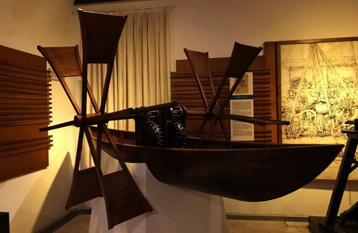 A Roma una mostra sulle macchine di Leonardo