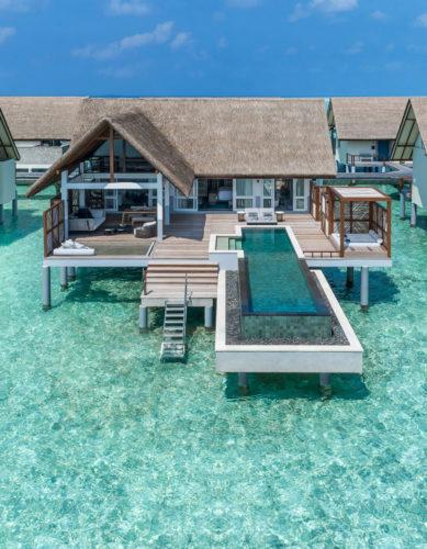 Four Seasons Resort at Landaa Giraavaru, un originale effetto loft nei nuovi standard di design nell'Oceano Indiano, mai così vicino...