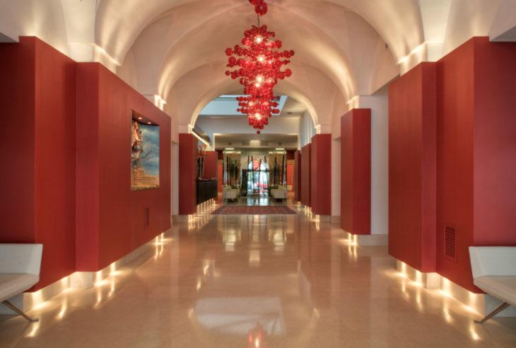 risorgimento hotel lecce lobby