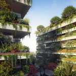 Lo Studio Stefano Boeri Architetti ha dato vita al progetto di quella che sarà la prima foresta verticale dell'Africa. I tre cubi verdi saranno pronti entro il 2022, con l'obbiettivo di dare maggior respiro a New Cairo, la nuova capitale amministrativa egiziana, collocata a solo 45 chilometri dal centro.