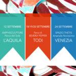 FESTIVAL DELLE ARTI: L'AQUILA-TODI-VENEZIA E BEVERLY PEPPER