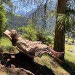 Nel cuore delle Dolomiti, in Val Luson, per ricarare le batterie e sperimentare la forza benefica della natura.