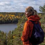 La magia dell'autunno Finlandese