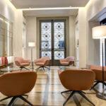 Restyling Hotel Orto de' Medici a Firenze: la lobby simbolo di libertà
