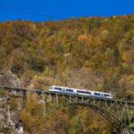 L'autunno dal finestrino. Si ripete l'incanto del Treno del Foliage
