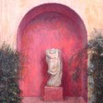 Nacho Valdes profesor de la escuela de Arte Sacro de Florencia