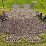 Keukenhof plants miffy mosaic for celebration of 65th birthday