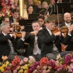 Riccardo Mutiin scena per il Concerto di Capodanno 2021 al Musikverein
