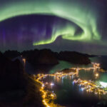 An Aurora in born - The Northern Lights baby