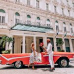 Valentine's Day in Habana, to celebrate the romantic meeting at the Gran Hotel Manzana Kempinski. The most luxurious hotel in the Cuban capital