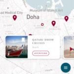 Scoprire il Qatar, con l'app assistente di viaggio personalizzata