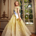 Amandine Petit, Miss France 2021 chooses the dresses of ZIAD NAKAD, for the MISS UNIVERSE Final