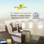 Alla Royal Brunei Airlines i premi di The World Travel Awards