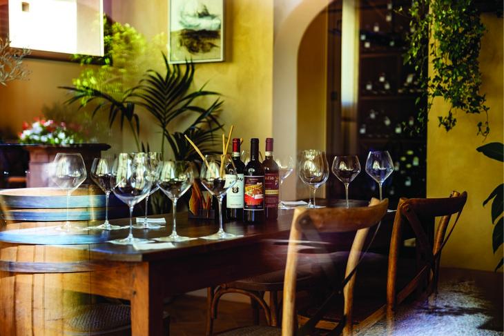 degustazione vino castello di casole
